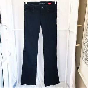 Level 99 Chloe BootCut Black Jeans Sz 26